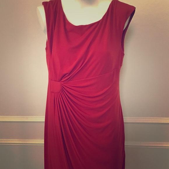 8275e2d5923 Dress Barn Dresses   Skirts - Dress barn coral dress. Size 16. Flattering